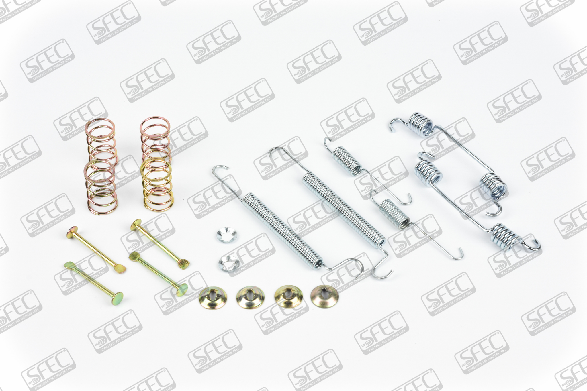 Accessory kits for brake shoes